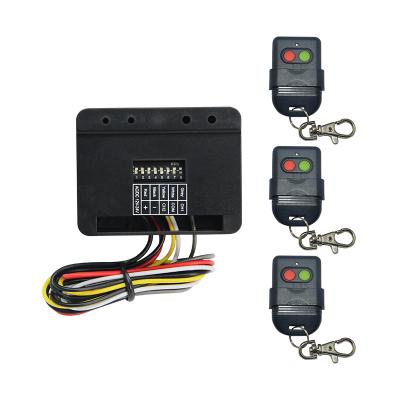 2CH Wireless Garage Door Remote Control Transmitter Receiver Kit